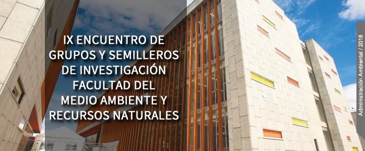 IX ENCUENTRO DE GRUPOS Y SEMILLEROS DE INVESTIGACIÓN - clic más información