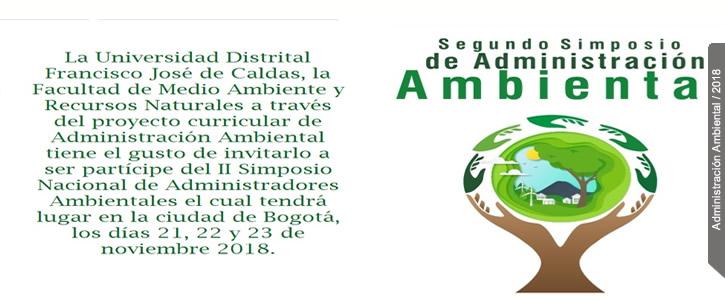 II SIMPOSIO DE ADMINISTRACIÓN AMBIENTAL - clic más información