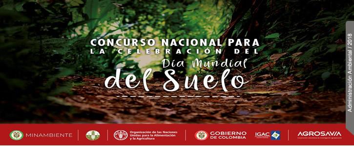 Concurso nacional para la celebración del día mundial del suelo - clic para inscribirse